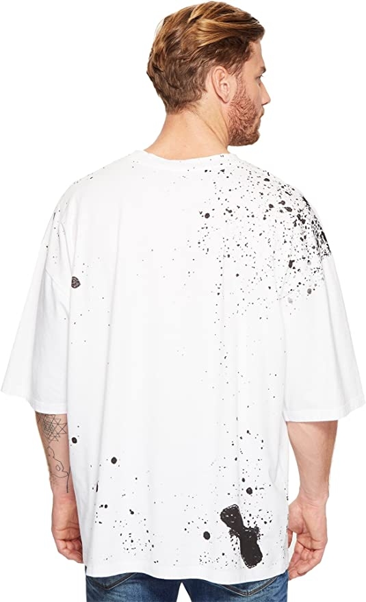 5a837a4f Vivienne Westwood Mens Anglomania Lee Baggy Spray Orb T-Shirt - White -:  Amazon.co.uk: Clothing