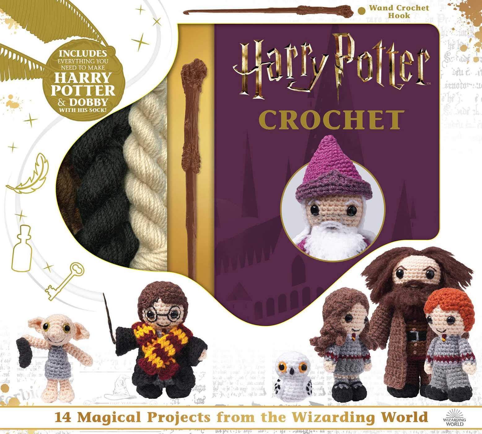 Harry Potter Crochet (Crochet Kits) by Thunder Bay Press