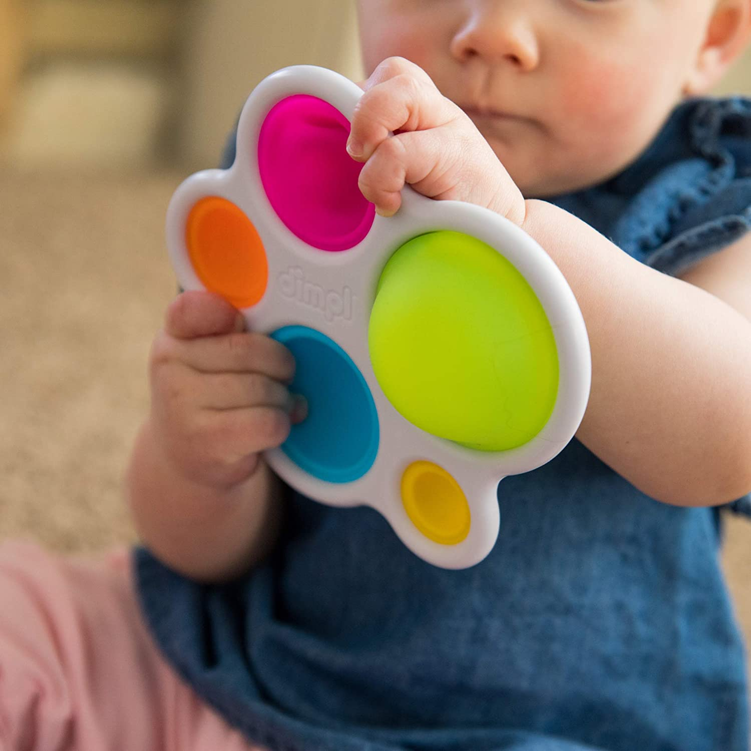 Fat Brain Toys Dimpl Baby Toys /& Gifts for Ages 1 to 2 Multi