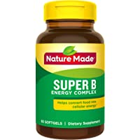 60-Count Nature Made Super B Energy Complex Softgels