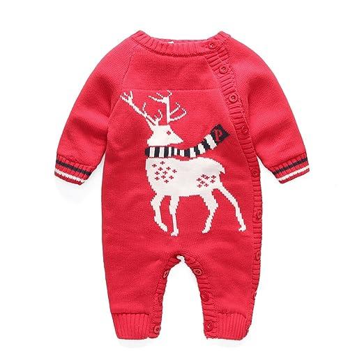 175f373d6384 Amazon.com  Newborn Baby Berber Fleece Hoodie Romper Outfit