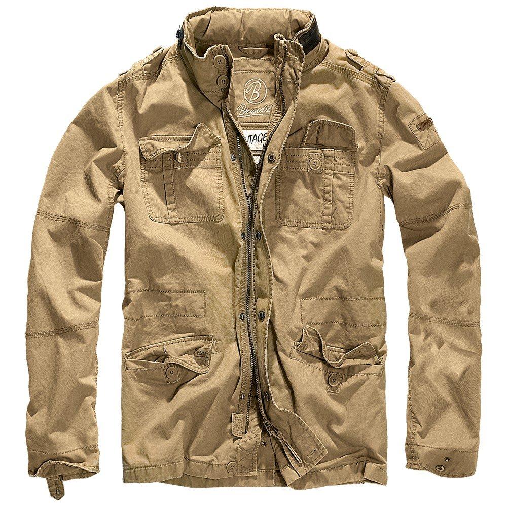 Brandit Britannia Jacket 3116, Size:XL, Color Camel