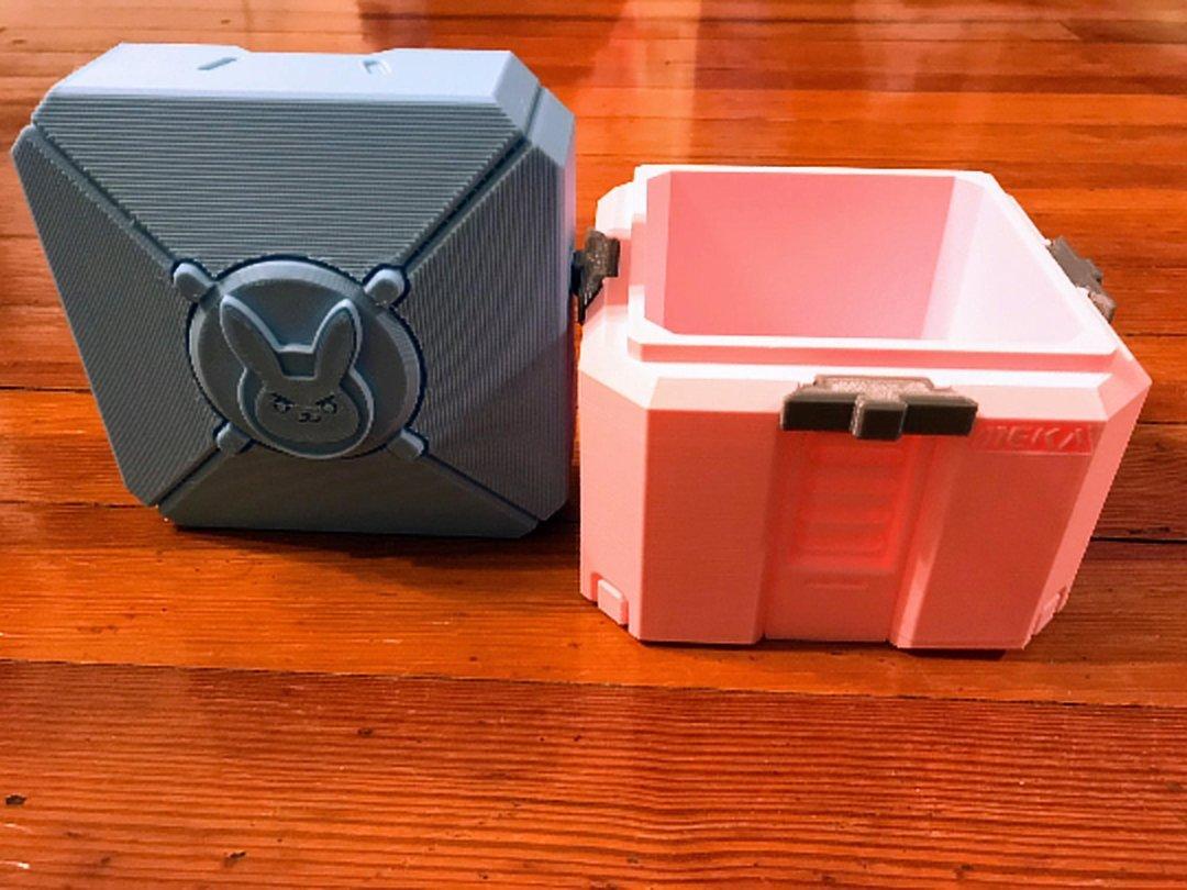 Overwatch botín caja   Overwatch chest  caja de botín de Botín   Overwatch juguete caja   caja   de botín Overwatch Prop   Overwatch joyería caja   caja de ...