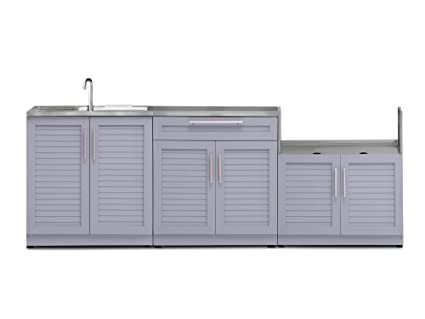 Amazon.com : NewAge Products 65458 Outdoor Kitchen Cabinet ...
