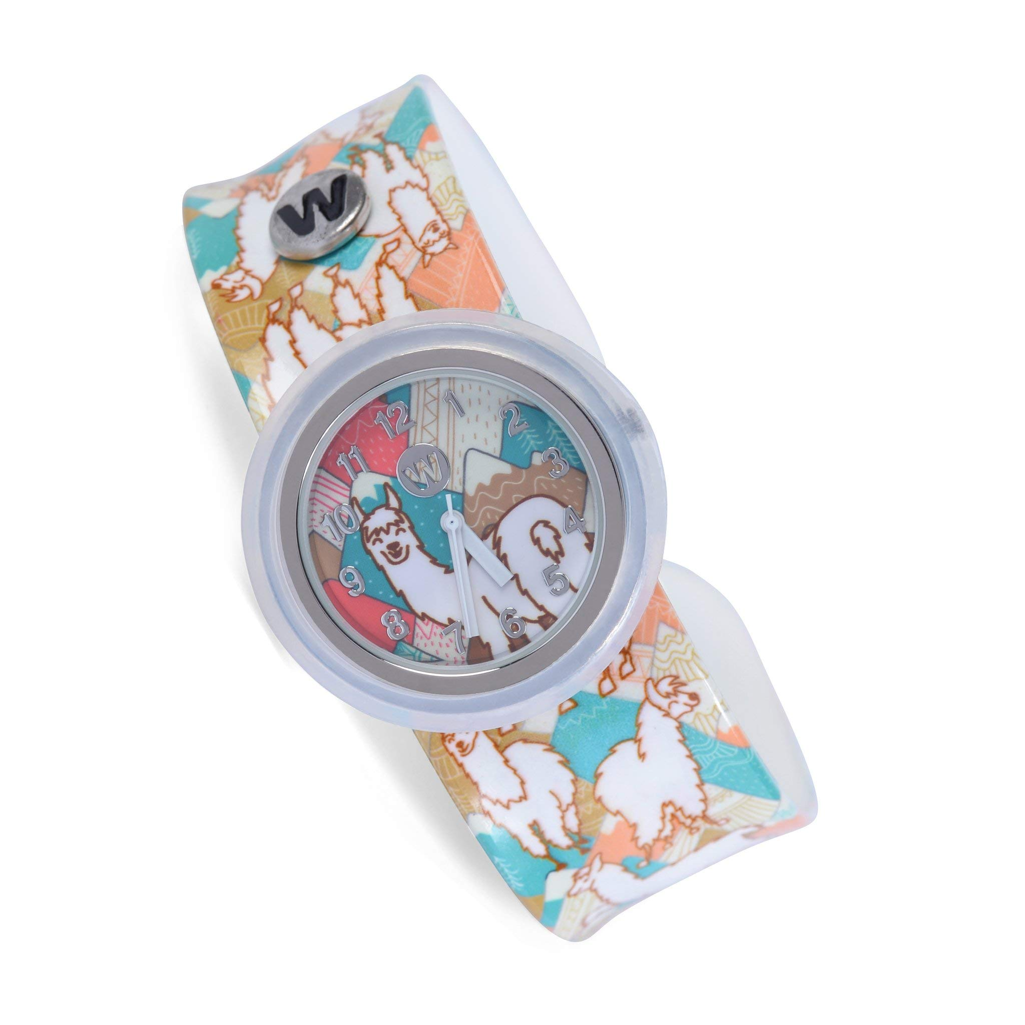 Watchitude Slap Watch for Girls (Llamas) by watchitude