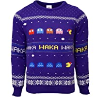 Official Pac-Man Christmas Jumper/Ugly Sweater - UK