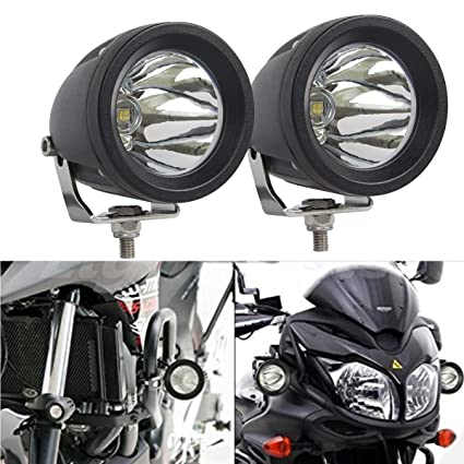 Lightronic 2pcs 3 Inch Round 15w Cree Led Off Road Auxiliary Fog Driving Lights For 4wd Powersports Vehicles