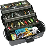 Flambeau Tackle XL 3 Tray Tackle Box (Black/Dark Gray(Black/Dark Gray, 20x10.25x10.375-Inch)