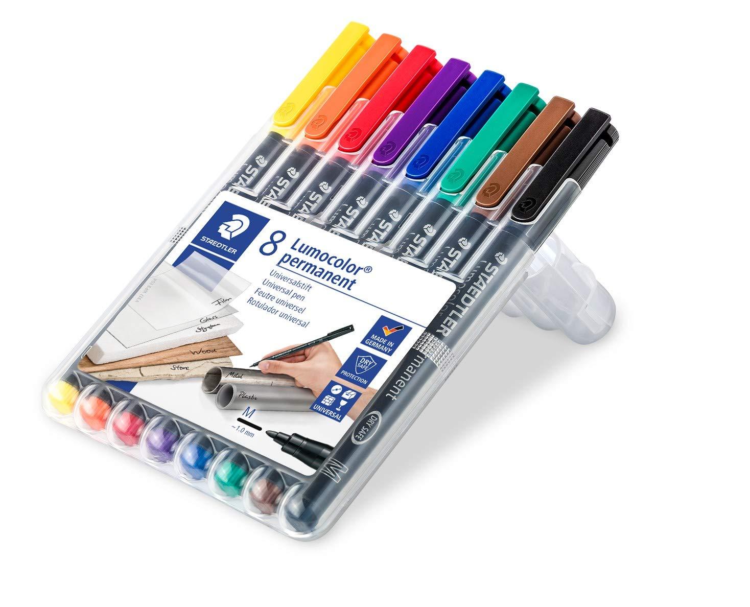 Lumocolor permanent Marker Staedtler 352 WP4 1,11€//Stück 4er Box