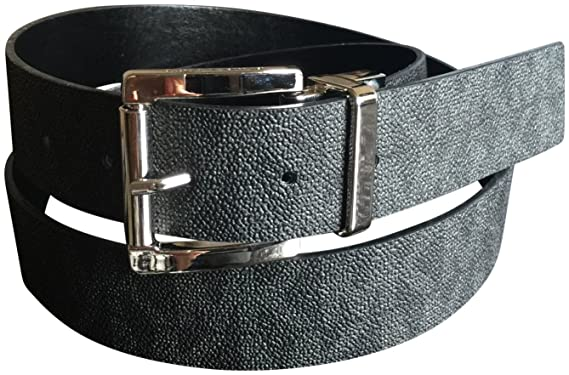 23074408f955 Image Unavailable. Image not available for. Color  Michael Kors Womens Mk  Reversible Belt Logo ...