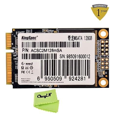 KingSpec 128 GB Mini PCI-E MSATA 6 Gb/s Interna SSD disco de ...