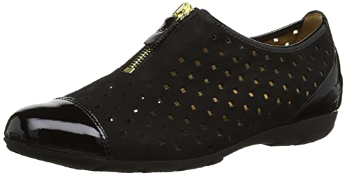 9774d880699fc Gabor Gibson, Women Loafers, Black (Black Nubuk Lavato/Patent), 3 UK ...