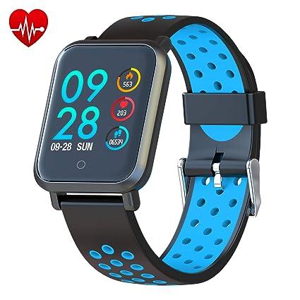 COLMI Smart Watch, Bluetooth Fitness Activity Tracker with Heart Rate Monitor, Wearable Blood Pressure Smartwatch for Women Men Kids, Waterproof ...