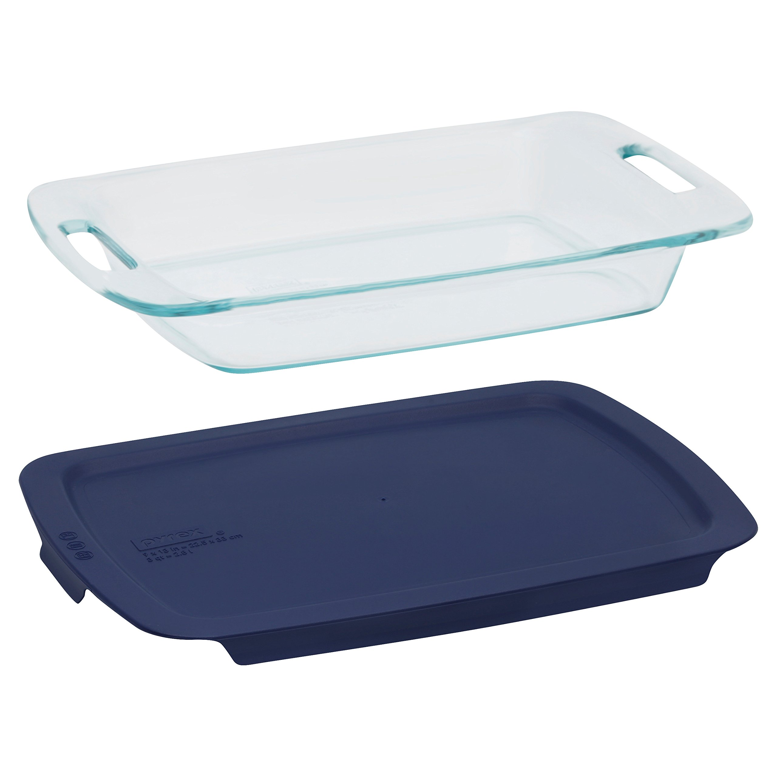 Pyrex Easy Grab Glass Bakeware and Food Storage Set (8-Piece, BPA-free) by Pyrex (Image #3)