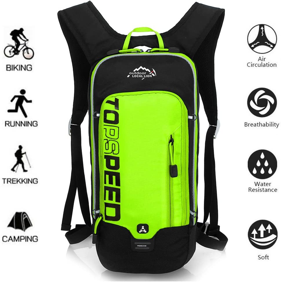 OUTDOOR LOCAL LION 10L Mochilas de Hidratacion Ciclismo al Aire ...