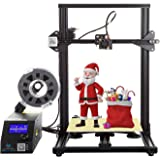 Creality CR-10 Black 3D Printer Open Source All Metal Frame 12x12x15.5 Inch Build Volume and Heated Bed Includes Glass…