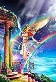 216ピース ジグソーパズル プリズムアート イリス-虹の女神- (25x36cm)