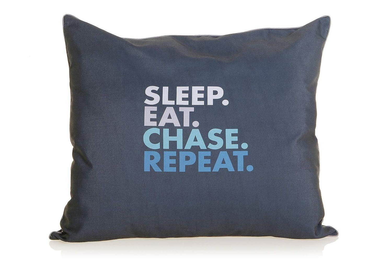 Medium DOOG Bed Sleep, Eat, Chase, Repeat [Size  Medium]