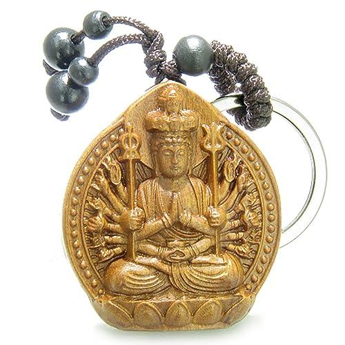 Amazon.com: Amuleto Sandalia Madera Kwan Yin Quan mil ...