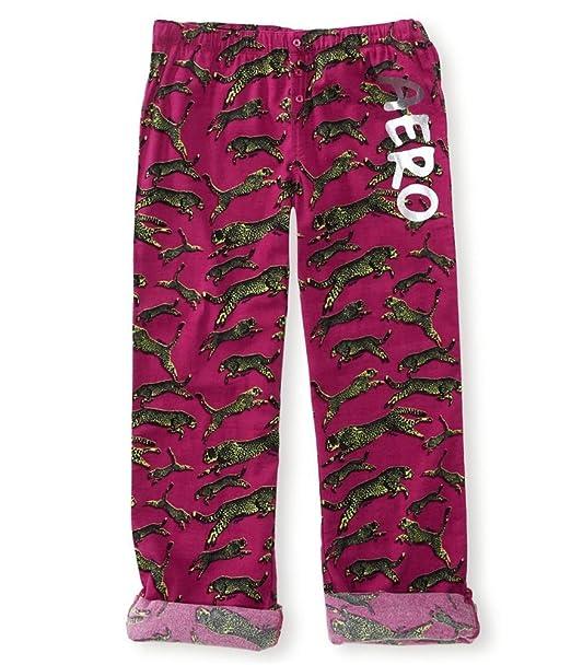 Aeropostale - Pantalón de pijama - para mujer morado 583 XS