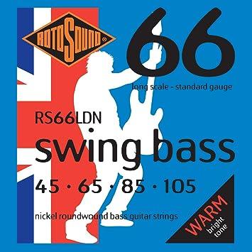 Rotosound RS66LDN - Juego de cuerdas para bajo: Amazon.es: Instrumentos musicales
