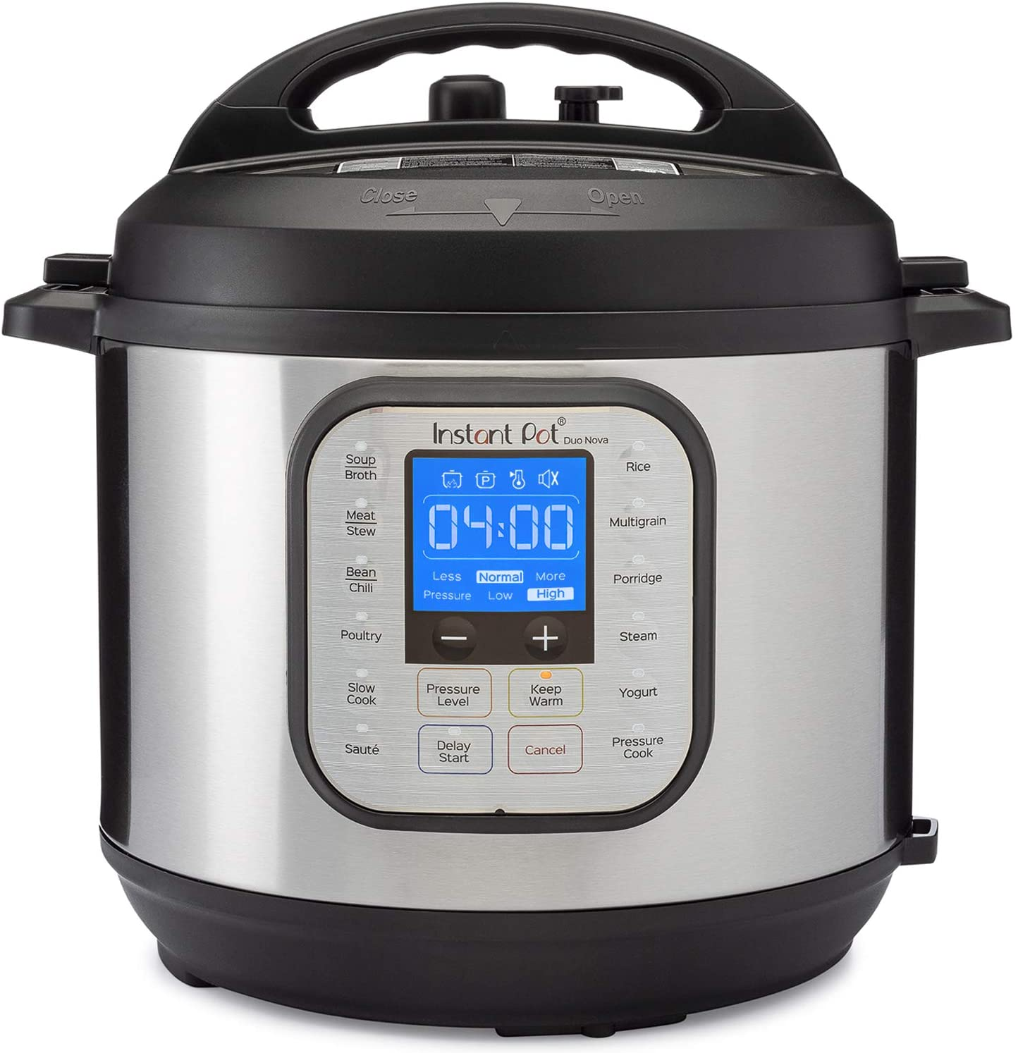 Instant Pot Pressure Cooker 7 in 1, 6 Qt. Meals can be fast and easy for mom. An appliance she will love.
