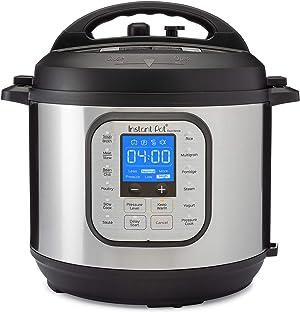 Instant Pot Duo Nova Pressure Cooker 7 in 1, 6 Qt, Best for Beginners