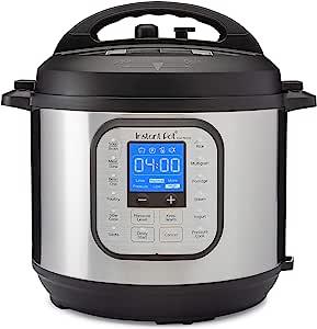 Instant Pot DUONOVA60 Duo Nova 6 Quart Pressure Cooker, 6 Qt, Silver
