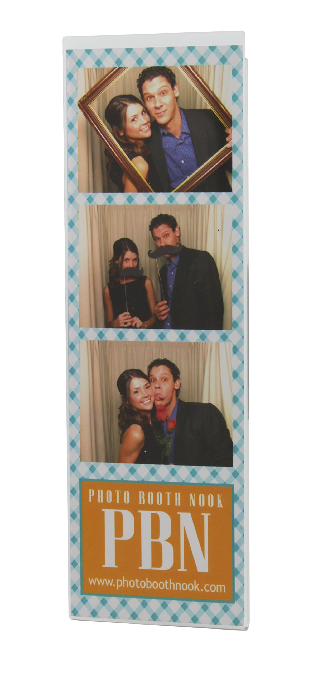 300 Acrylic Magnetic Photo Booth Frames for 2'' X 6'' Photo Strips - Wholesale by Photo Booth Nook