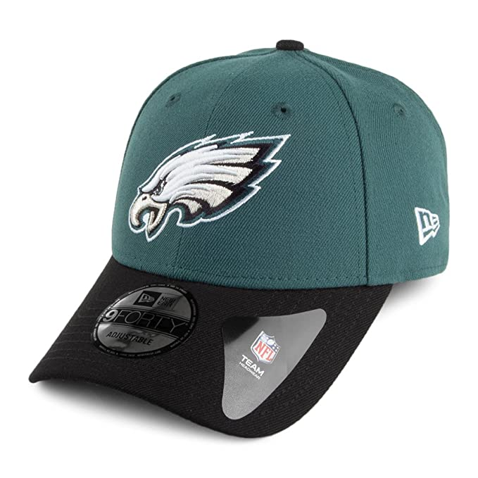 e8c817fbd57 New Era 9FORTY Philadelphia Eagles Baseball Cap - The League - Green-Black  Adjustable