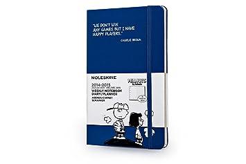 Moleskine Agenda Semanal Snoopy. Tamaño grande. 2014-2015
