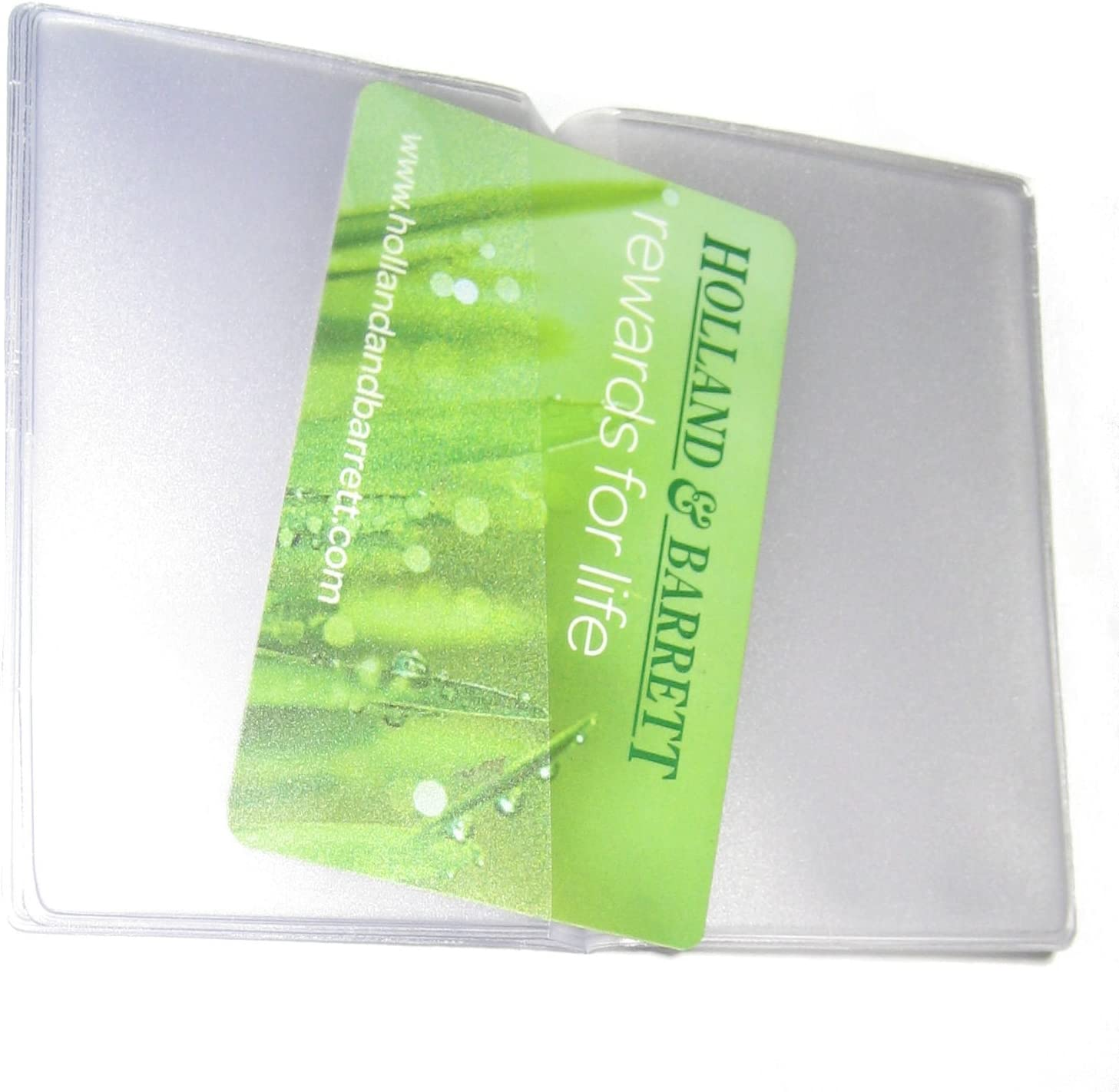 Quality Replacement Credit Card Purse//Wallet Insert Sleeves for 6 Cards 1 x Portrait