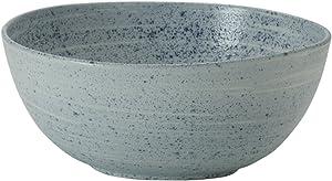 Mikasa Whistler Vegetable Serving Bowl, 10-Inch, Blue