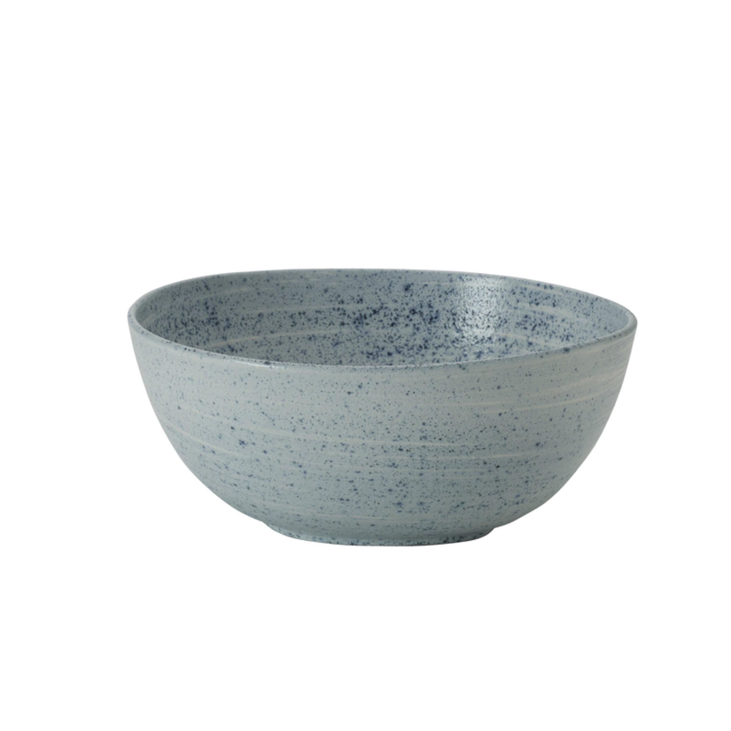 Mikasa 5229339 Whistler Vegetable Serving Bowl, 10-Inch, Blue