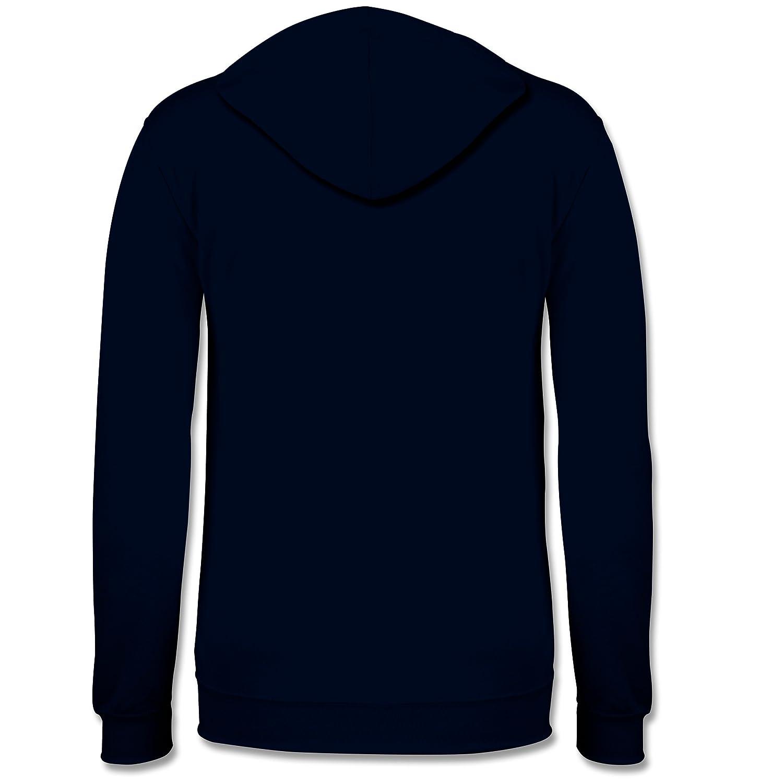 Statement Shirts - 'N 'N 'N Scheiß muss ich - Kontrast Hoodie B01N7CB20G Sweatshirts Online-Verkauf f66ab7