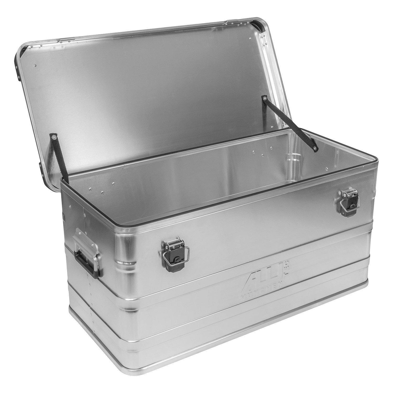 Alukoffer Alubox Lagerbox Alukiste Kiste 91 Liter - D91