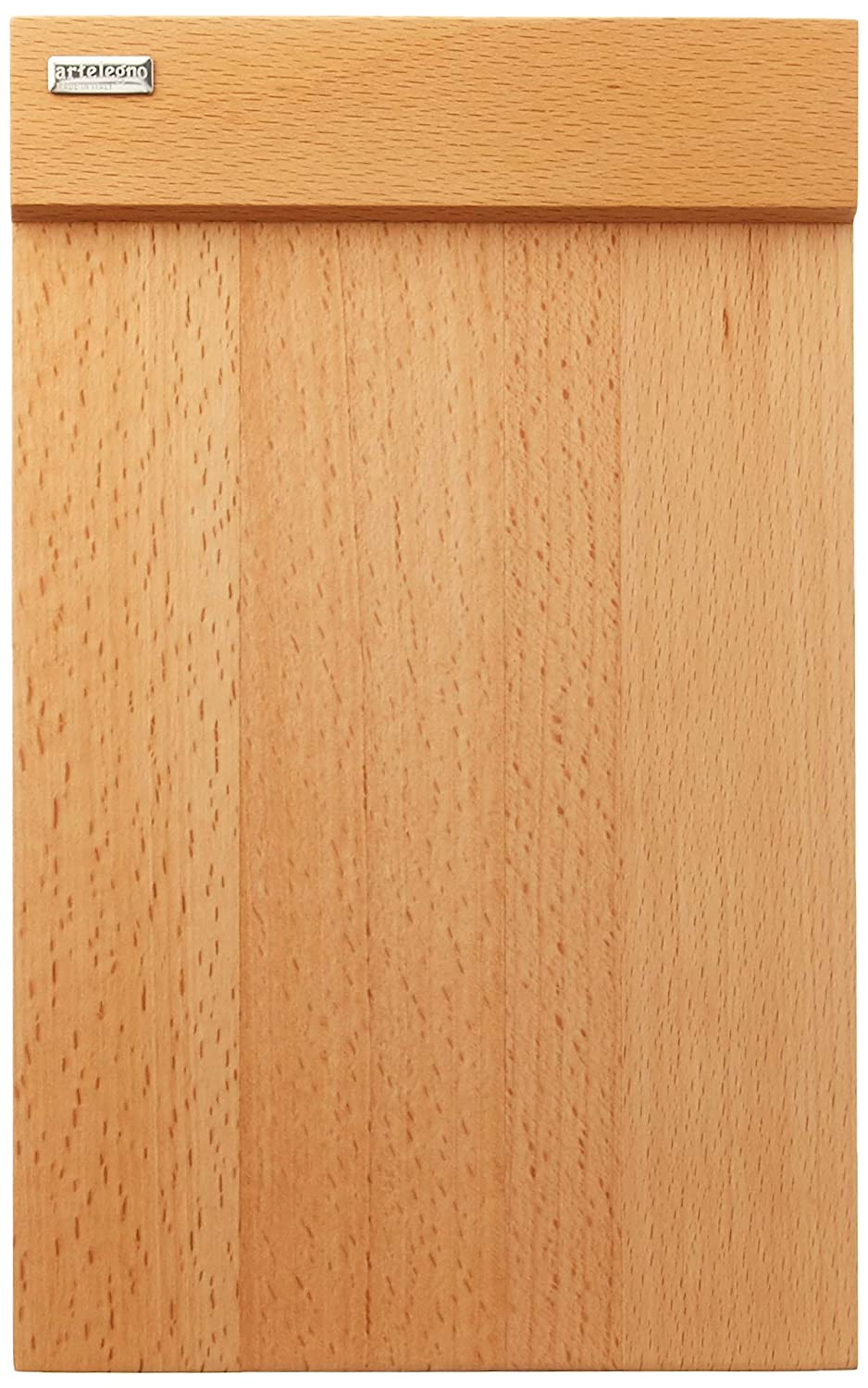 (4 Plates, Natural) - Artelegno Solid Beech Wood Set of 4 Multi-Purpose Plates, Luxurious Italian Firenze Collection by Master Craftsmen, Eco-friendly, Natural Finish 4 Plates ナチュラル B019PR3V3G