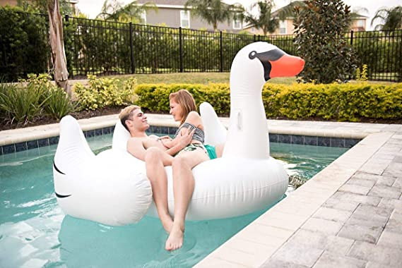 Juguetes gigantes para nadar - Balsa flotante inflable de la ...