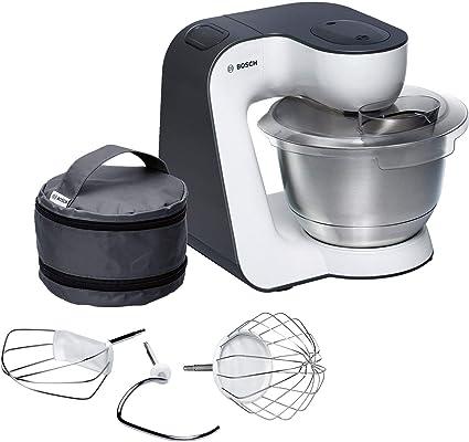 Bosch MUM54A00 900W - Robot de cocina, 3,9 L, 900 W, Negro/Plata ...