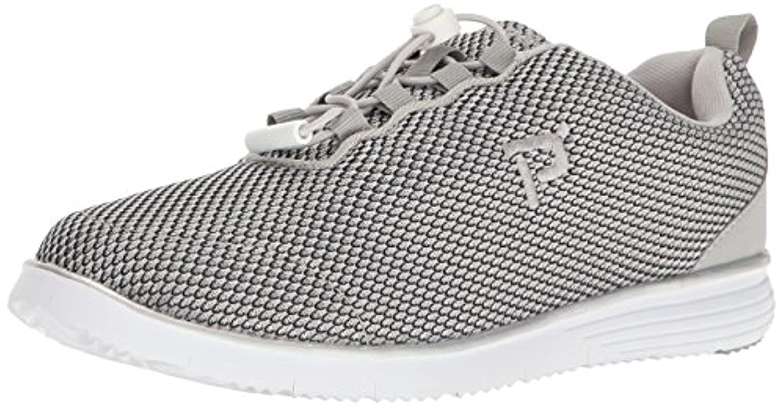 Propet Womens TravelActiv Shoe Silver 6 E 4E /& Oxy Cleaner Bundle