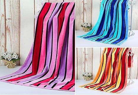 GYX Toallas de algodón más grande toallas toallas de algodón suave y absorbente , 3
