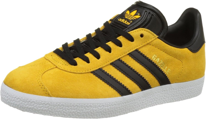 adidas gazelle uomo nere gialle