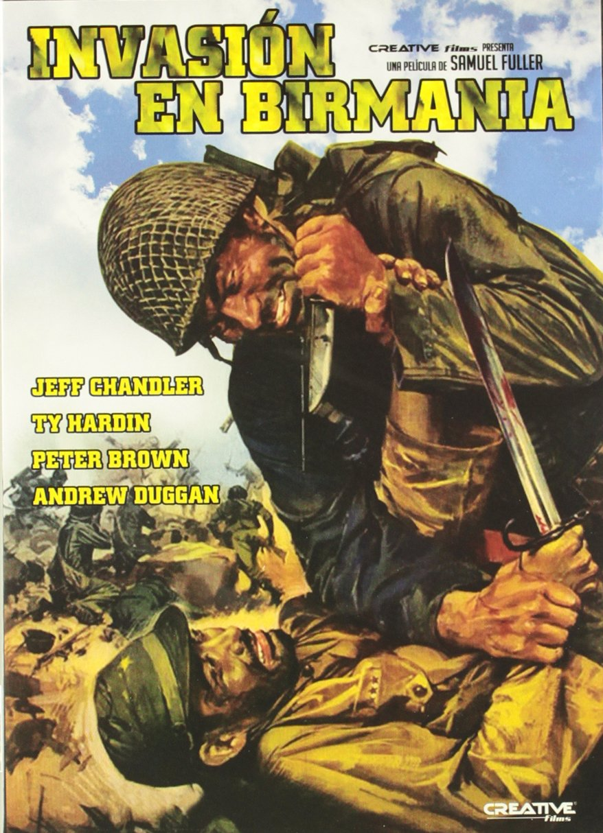 Invasión En Birmania [DVD]: Amazon.es: Jeff Chandler, Peter Brown, Andrew Duggan, Ty Hardin, Varios, Samuel Fuller: Cine y Series TV