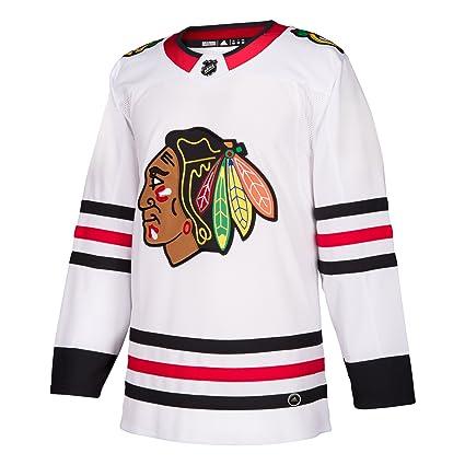 on sale 6ffc1 a3a2f Amazon.com : adidas Chicago Blackhawks Adizero NHL Authentic ...
