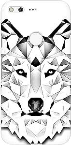 جراب أنيق لهاتف Google Pixel من Stylizedd بلمسة نهائية غير لامعة - بولي ذئب