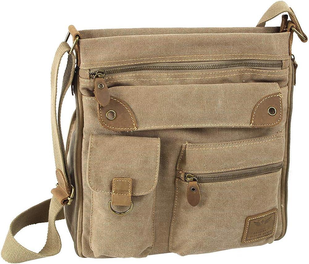 Damen Handtasche Damentasche Schultertasche Umhängetasche Crossover FB131