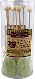 product image for Melville Candy Matcha Honey Spoons, 8 Lollipop Stirrers, Complements Gourmet Treats and Beverages - Coffee, Tea, Cocoa, Hot Chocolate, Cocktails - Perfect for Holidays and Gifts