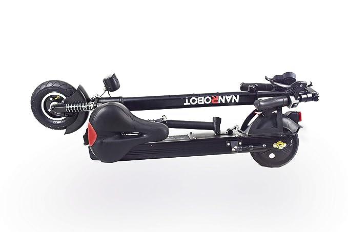 Amazon.com: NANROBOT X4 Scooter eléctrico ligero plegable ...