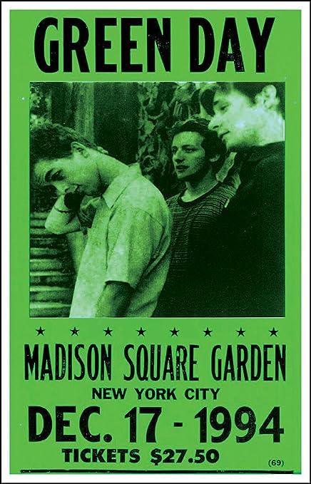 Amazon.com: Green Day Madison Square Garden 1994 14\