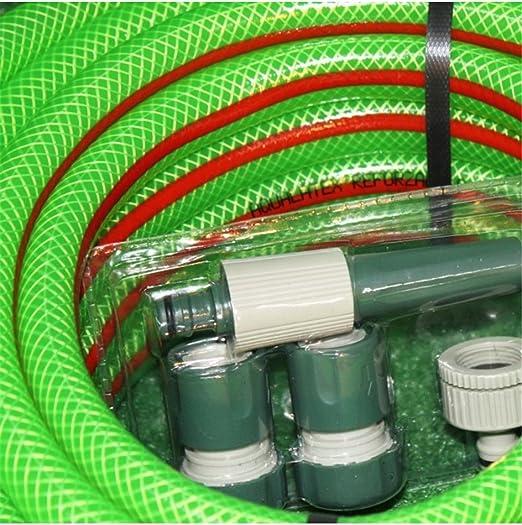 Jardin202 20mm - Kit Manguera Aqualatex Reforzada: Amazon.es: Jardín